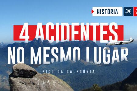 Quatro acidentes no MESMO LUGAR. Pico da Caledônia